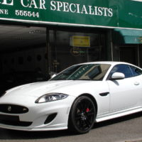 JAGUAR  XKR 5.0 DYNAMIC SPEED PACK With BLACK PACK + ACTIVE PERFORMANCE EXHAUST 32,481 MILES SOLD